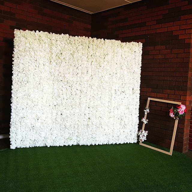Backdrop sinh nhật hoa tươi giấy XV634
