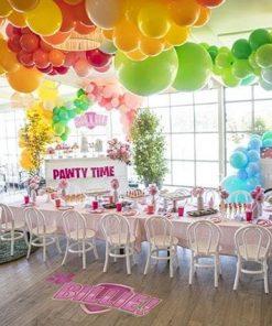 Trang trí tiểu cảnh bong bóng cho buổi tiệc sinh nhật XV663