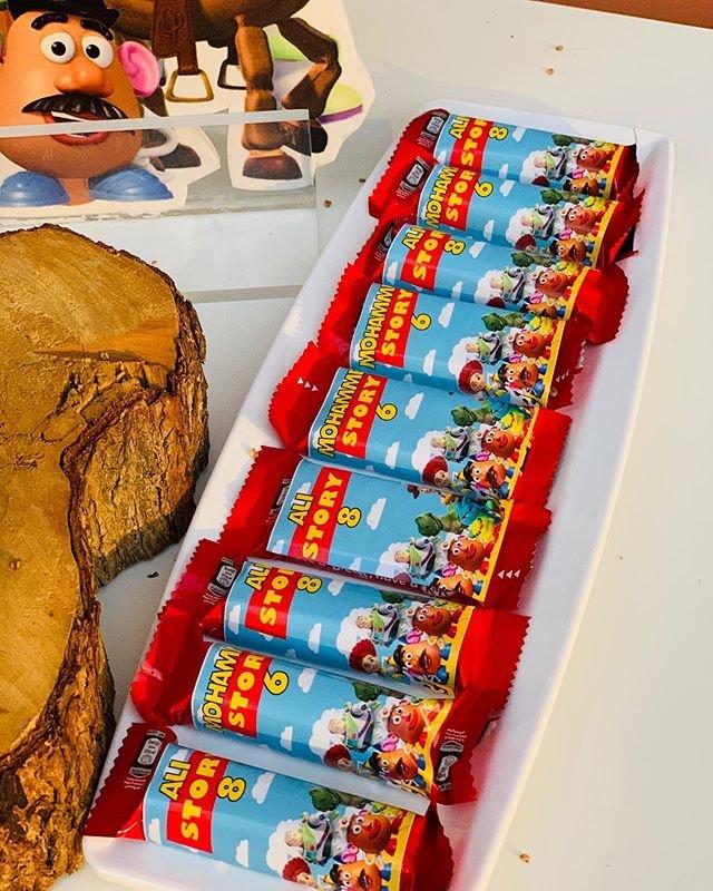 Giấy bọc bánh kẹo dành riêng cho bộ sản phẩm chủ đề Toy Story XV668