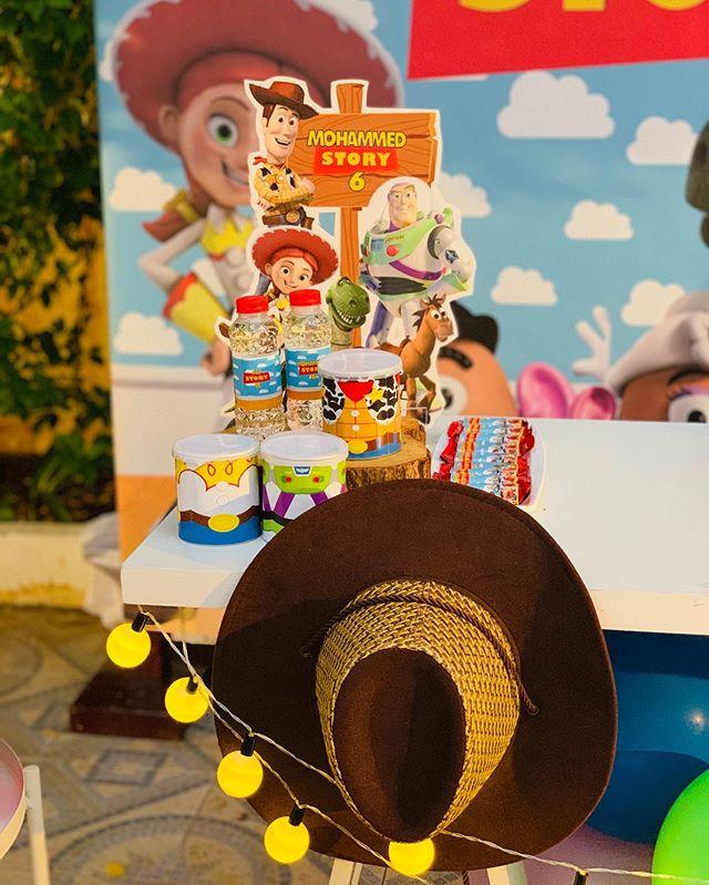 Phụ kiện trang trí bàn quà sinh nhật chủ đề Toy Story XV668
