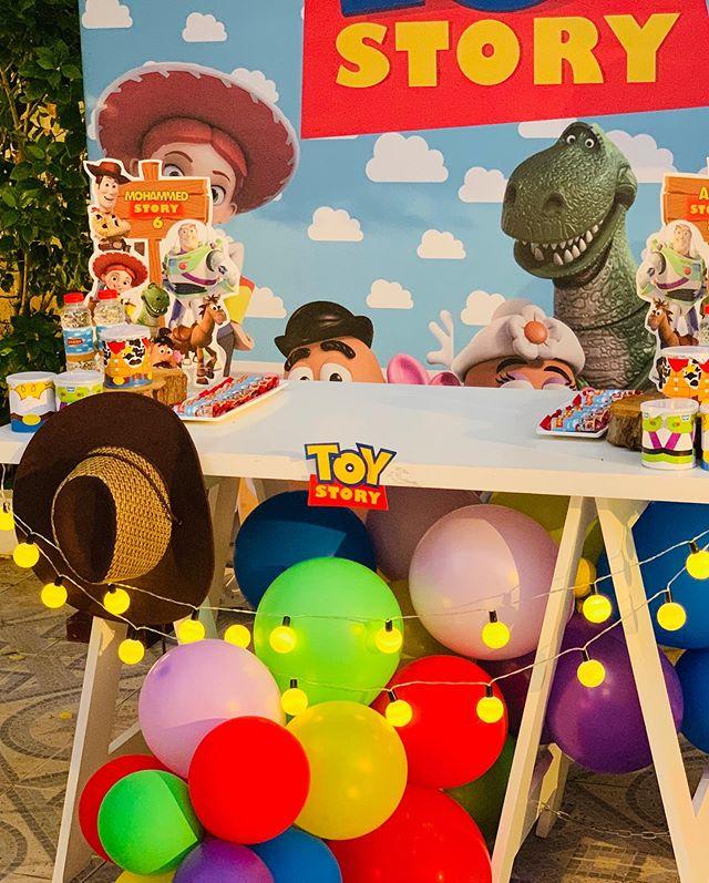 Trang trí bàn quà sinh nhật chủ đề Toy Story XV668