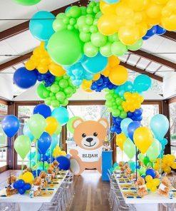 Trang trí sân khấu sinh nhật đủ màu sắc XV655