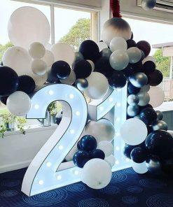 Tiểu cảnh chữ 3D trang trí sinh nhật XV677