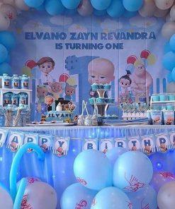Trang trí sinh nhật trọn gói the boss baby XV701
