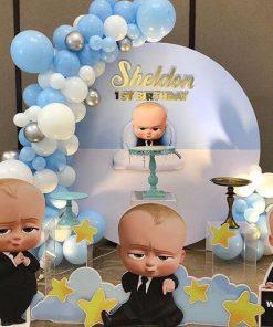 Tiểu cảnh sinh nhật The boss baby XV674