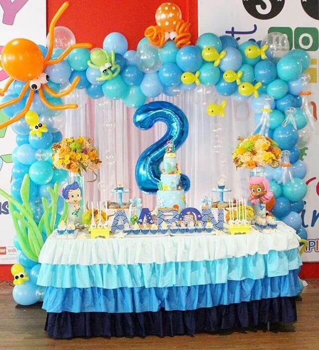 Bàn quà sinh nhật đại dương XV698