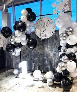 Tiểu cảnh sinh nhật người lớn cùng bong bóng bay XV685