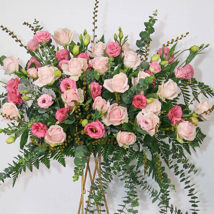 Hoa khai trương đẹp nhất với hoa hồng