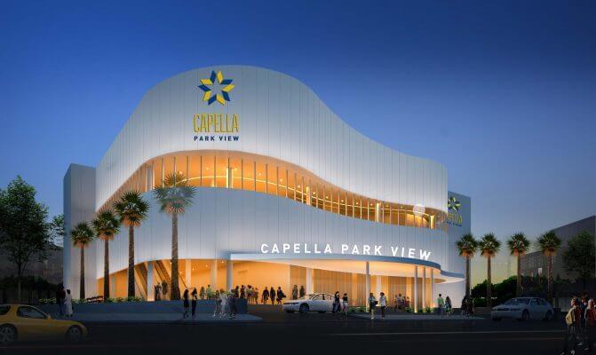 Trung tâm hội nghị và sự kiện CAPELLA PARK VIEW