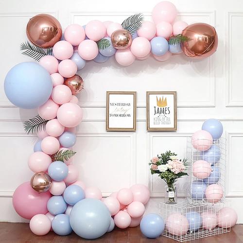 Backdrop bong bóng sinh nhật XV721