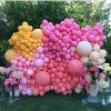 Backdrop bong bóng sinh nhật XV722