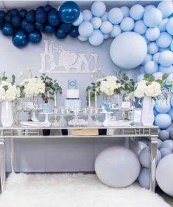 Backdrop bong bóng sinh nhật sang trọng XV716