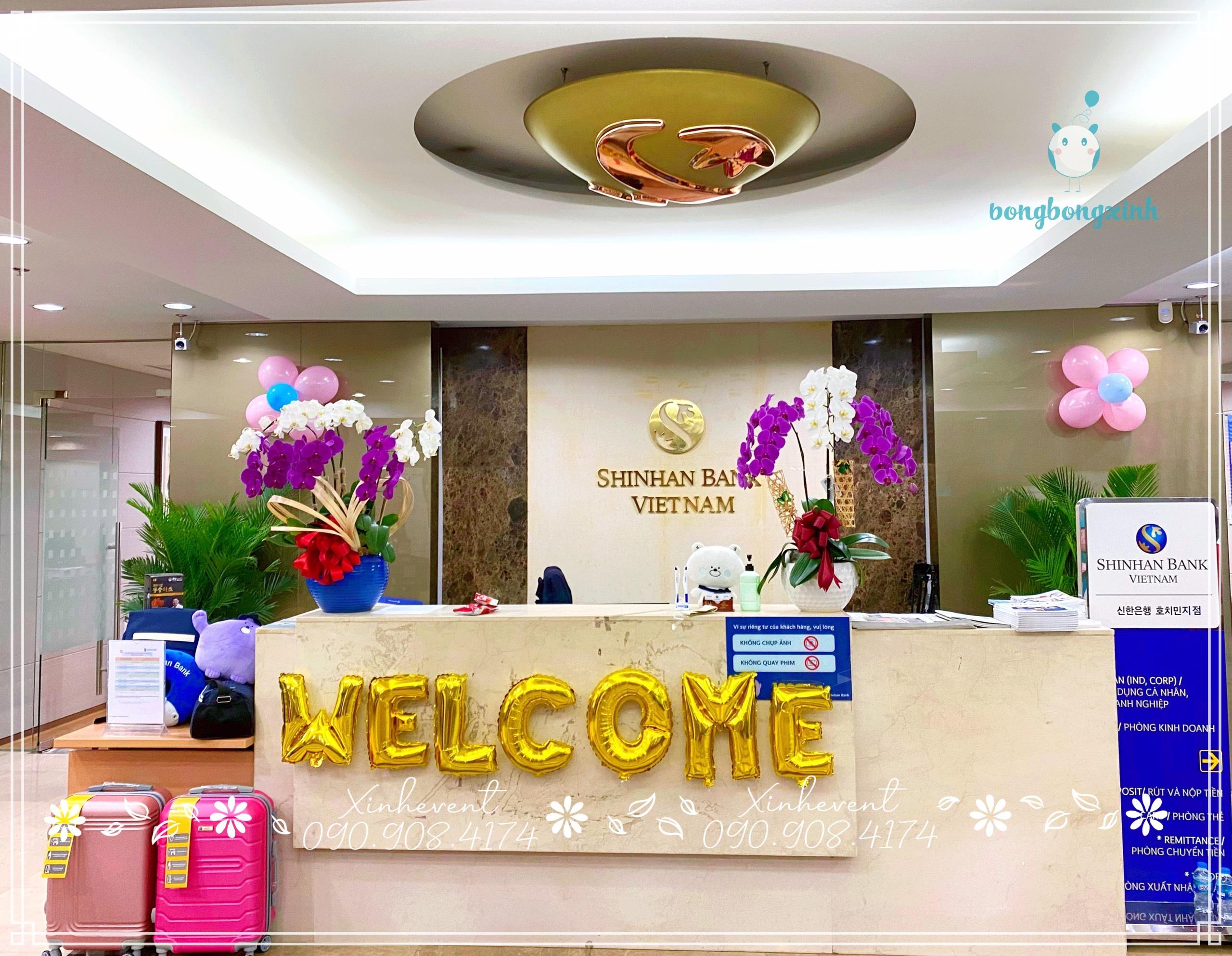 Cận cảnh ngân hàng Shinhan Bank