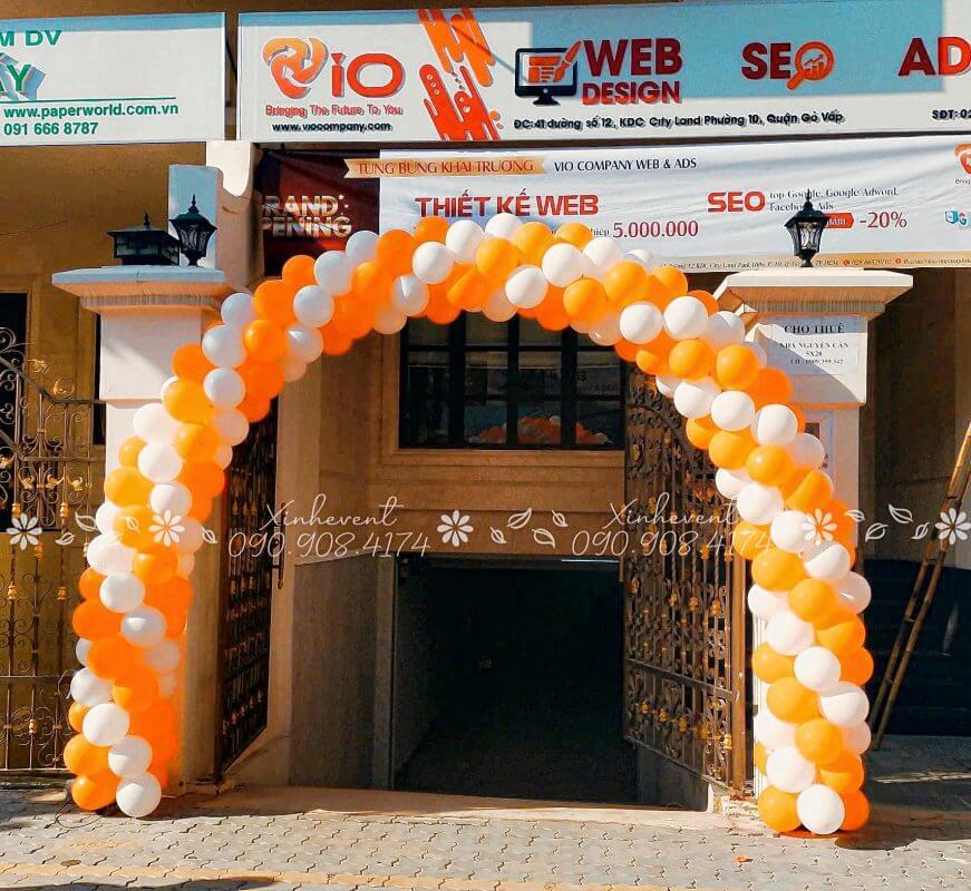 Cổng chào khai trương công ty VIO Gò Vấp