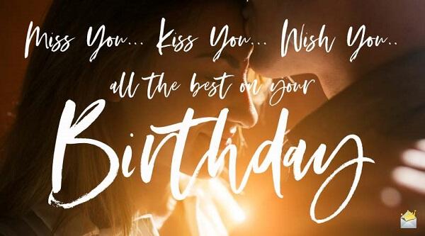 Chúc mừng sinh nhật người yêu cũ bằng tiếng Anh