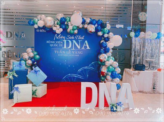 Trí sinh nhật Thẩm Mỹ Viện DNA