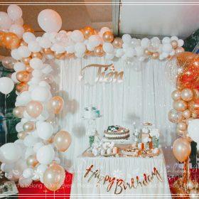 Trang trí sinh nhật Tiên 15-6 tại Gò Vấp