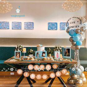 Trang trí sinh nhật ca sĩ Khánh Tiên
