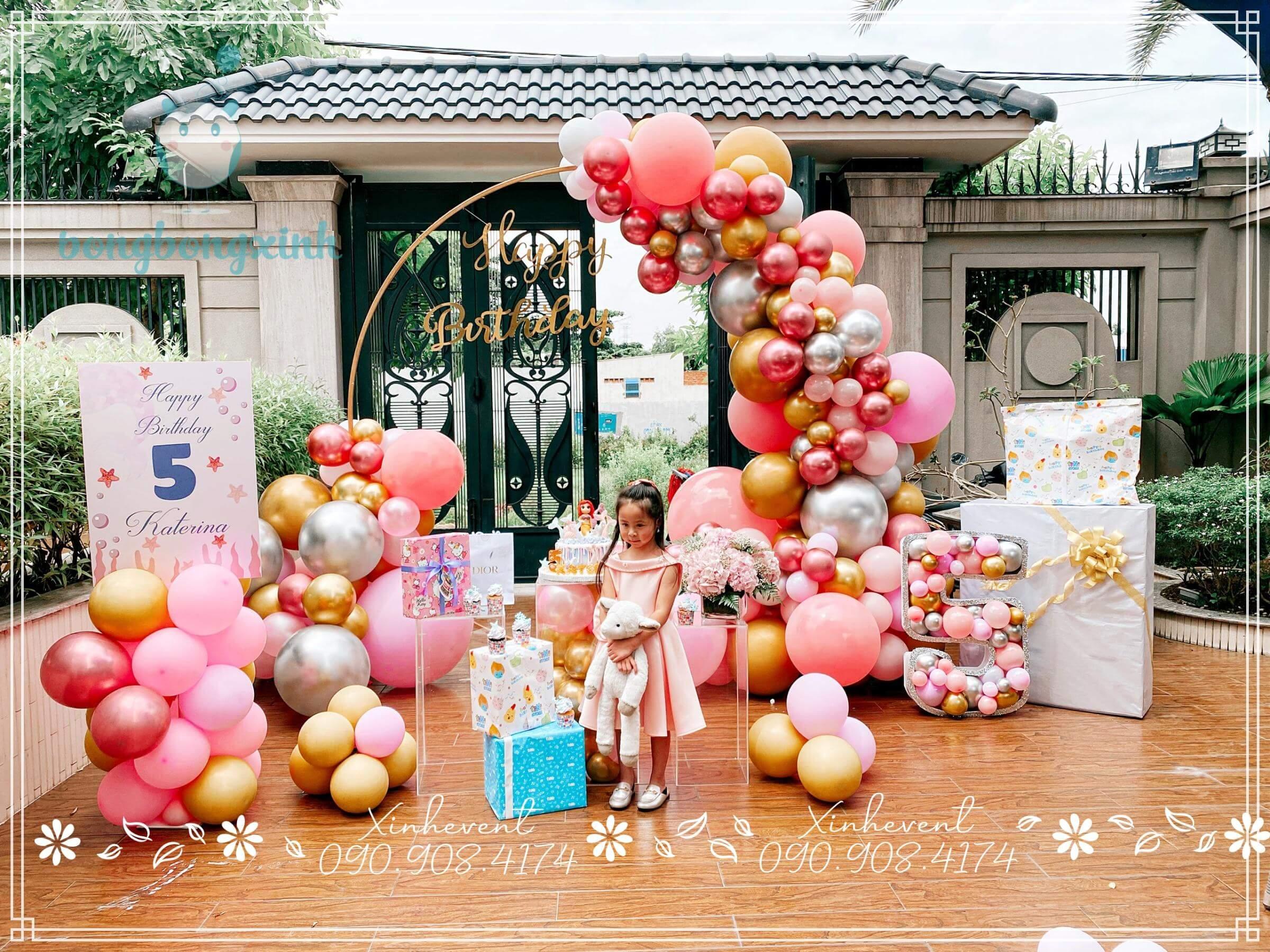 Chúc mừng sinh nhật bé Katerina