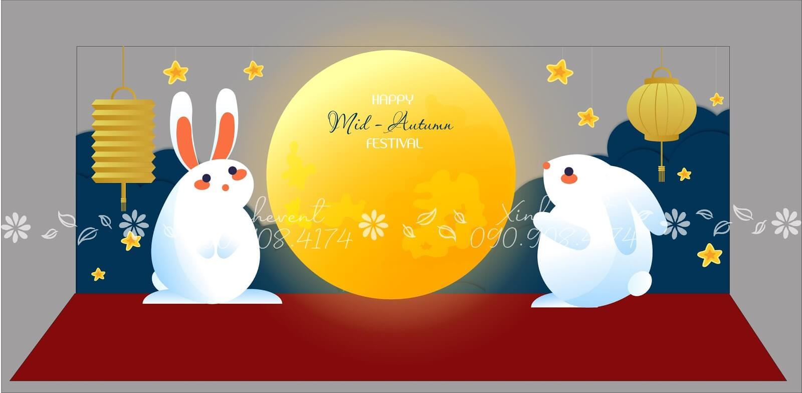 Dịch vụ tổ chức và trang trí trung thu tại Xinh Event