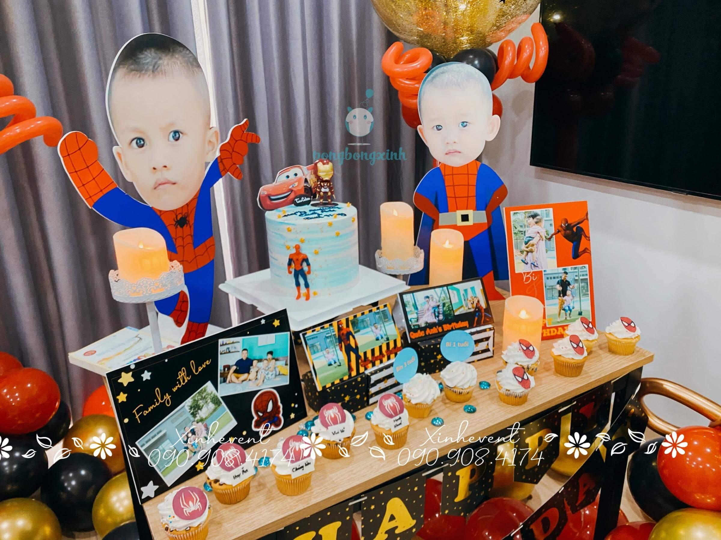 Góc trái xinh đẹp của chiếc bàn sinh nhật bé