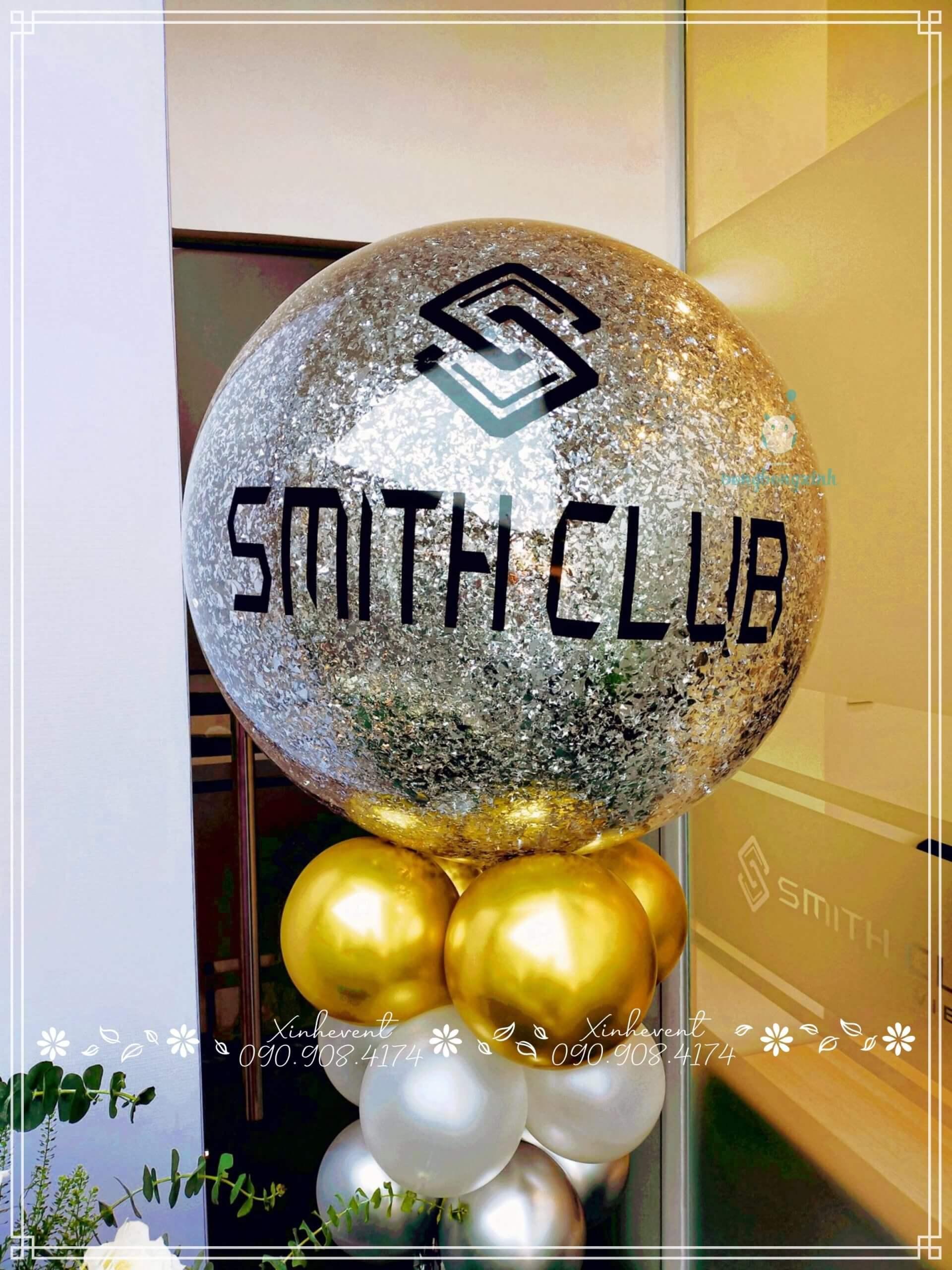 Bóng jumbo in thương hiệu Smith Club