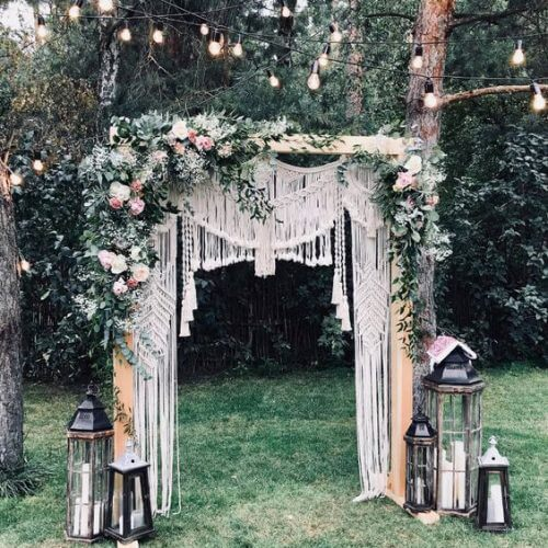 Cổng chào đám cưới xinh đẹp XV748
