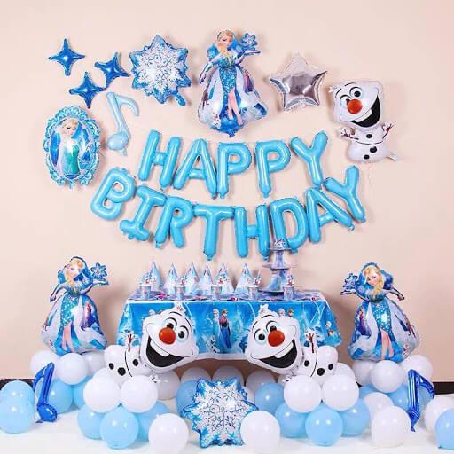 Sét phụ kiện sinh nhật Elsa