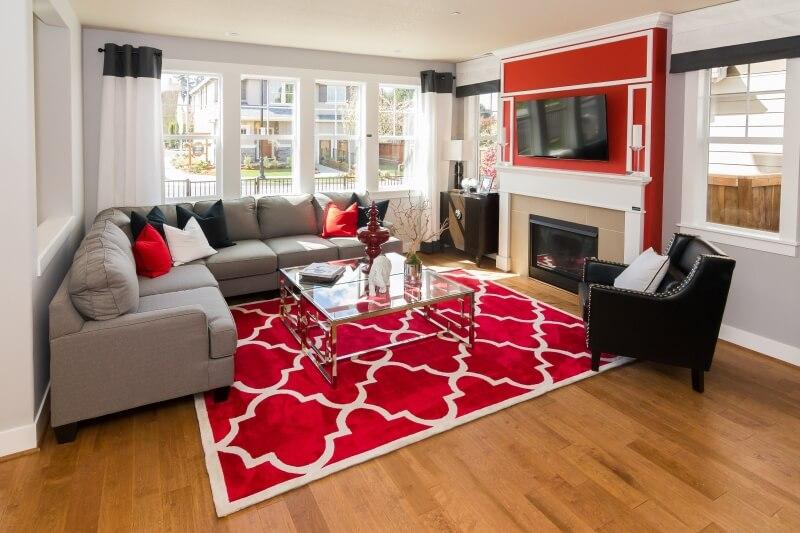 Thay thảm mới cho nhà mình