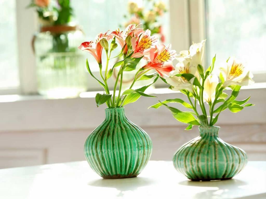 Trang trí tết bằng hoa tươi