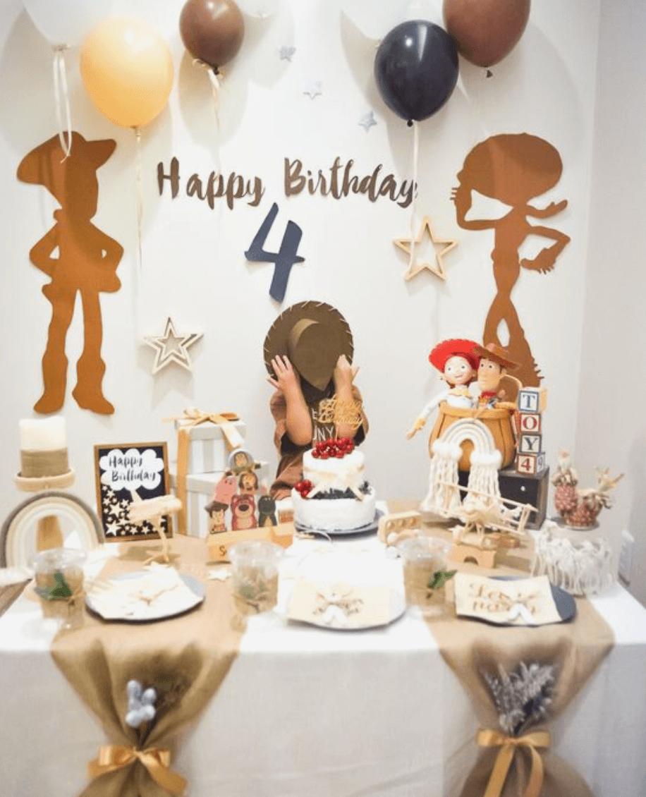 Tổ chức sinh nhật cho bé tại nhà 1