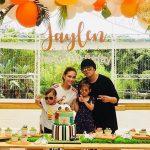 Châu Kiệt Luân tổ chức sinh nhật cho con trai