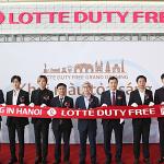 Lotte Duty Free mở cửa hàng miễn thuế tại sân bay Nội Bài